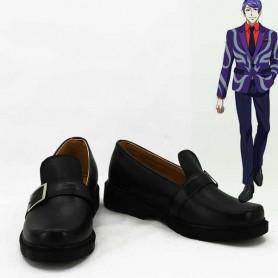 Tokyo Ghoul Shuu Tsukiyama Black Cosplay Shoes