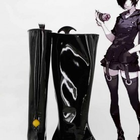 Tokyo Ghoul Touka Kirishima Black Battle Cosplay Boots