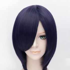 Tokyo Ghoul Touka Kirishima Purple Cosplay Wig