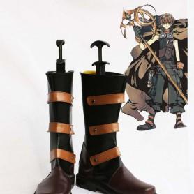 Tsubasa Reservoir Chronicle Li Syaoran Cosplay Boots