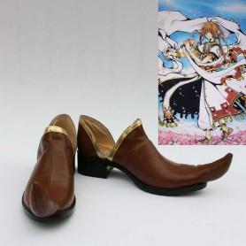 Tsubasa Reservoir Chronicle Sakura Cosplay Shoes