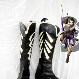 Devil Kings/Sengoku Basara Mori Ranmaru Cosplay Boots