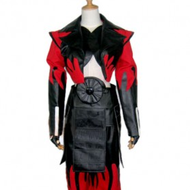 Devil Kings/Sengoku Basara Sanada Yukimura Cosplay Costume