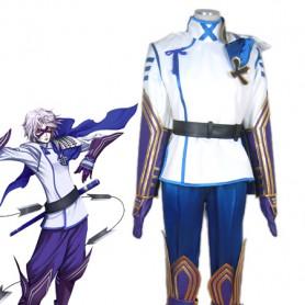 Devil Kings/Sengoku Basara Takenaka Hanbei Cosplay Costume