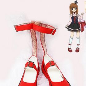 Umineko no Naku Koro ni Maria Ushiromiya Cosplay Shoes