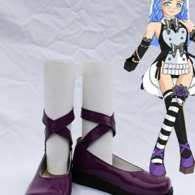 Umineko no Naku Koro ni Zeparu Cosplay Shoes