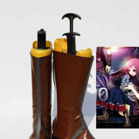 Unlight BeastTamer Palmo Brown Cosplay Boots