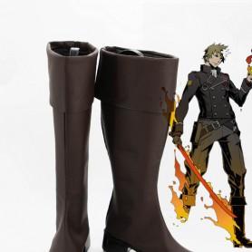 Unlight Firestarter Riesz Brown Cosplay Boots
