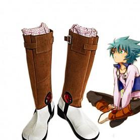 Yu-Gi-Oh! GX Johan Andersen Cosplay Boots
