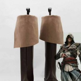Assassins Creed 4:Black Flag Connor Kenway Cosplay Boots