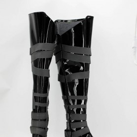 2013 Newest Black Butler Cosplay UnderTaker Cosplay Boots