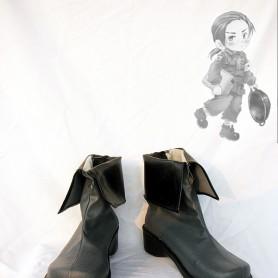 Axis Powers Hetalia China/Yao Wang Cosplay Shoes/Boots