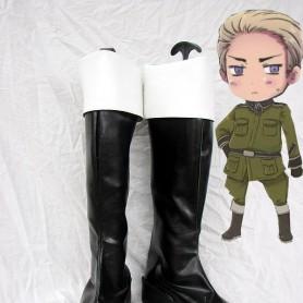 Axis Powers Hetalia Germany/Ludwig Cosplay Boots