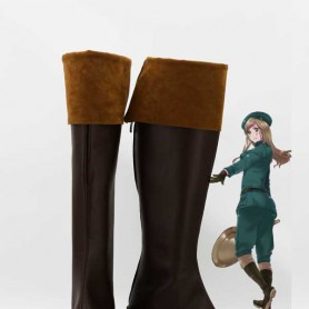 Axis Powers Hetalia Hungary Brown Cosplay Boots
