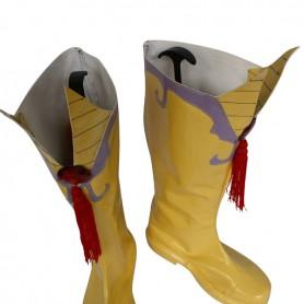 Axis Powers Hetalia Shiny Deutschland Yellow Cosplay Boots