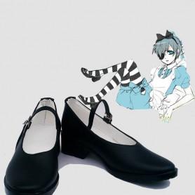 Black Butler Ciel In Wonderland Cosplay Shoes