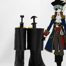 Black Butler Ciel Phantomhive Black Cosplay Boots