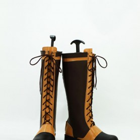 Black Butler Ciel Phantomhive Brown Long Cosplay Boots