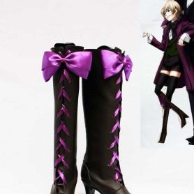 Black Butler II Alois Trancy Pretty Bow Cosplay Boots