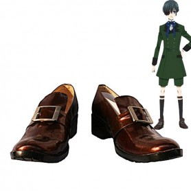 Black Butler Cosplay Ciel Buckle Cosplay Shoes