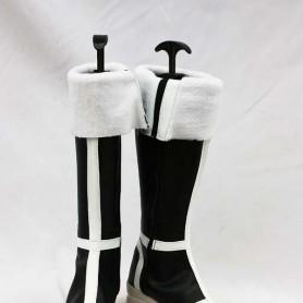 Bleach Broken Mask/ Arrancar Artificial Leather Cosplay Boots