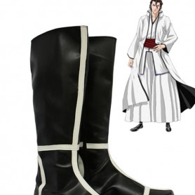 Bleach Cosplay Arrancar's Black Cool Cosplay Boots