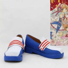 Cardcaptor Sakura Cosplay Sakura Blue & White Cosplay Shoes