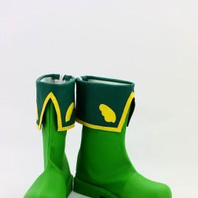 Cardcaptor Sakura Cosplay Syaoran Li Green Cosplay Boots