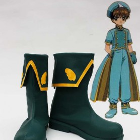 Cardcaptor Sakura Syaoran Li Cosopaly Show Boots