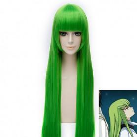 100cm Code Geass C.C Green Cosplay Wig