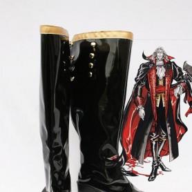 Castlevania Cosplay Earl Black Cosplay Boots