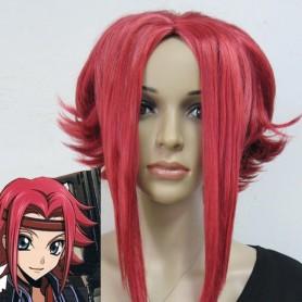 Code Geass Kallen Stadtfeld Red Cosplay Wig