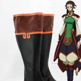 Code Geass R2 Cosplay Zhou Xianglin Cosplay Boots