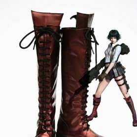 Devil May Cry 4th Cosplay Lady Female Cosplay Show Boots