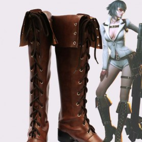 Devil May Cry 4th Lady Cosplay Show Boots