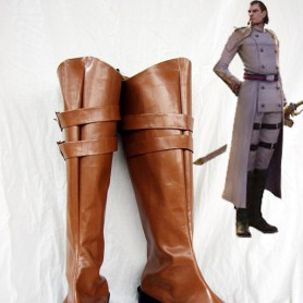 Devil May Cry IV Cosplay Credo Artificial Leather Cosplay Boots