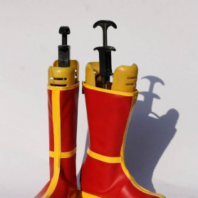 Dragon Ball Cosplay Red Cosplay Show Boots