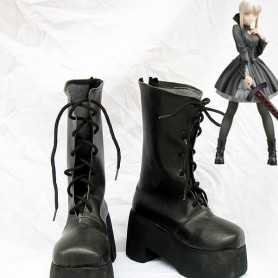 Fate Stay Night Cosplay Saber Black Cosplay Boots