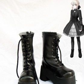 Fate Stay Night Saber 5.5cm Heel Height Cosplay Boots