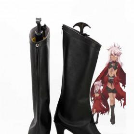 Fate/kaleid liner Prisma Illya Chloe von Einzbern Black Cosplay Boots