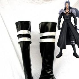 Dissidia Final Fantasy Cosplay Sephiroth Black Cosplay Boots