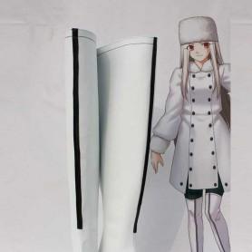 Fate/Zero Irisviel von Einzbern White Cosplay Boots