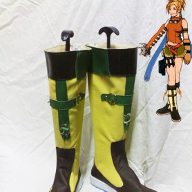 Final Fantasy X Cosplay Shoes Rikku's Cosplay Boots