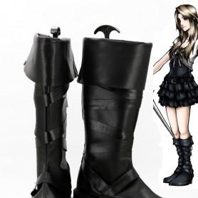 Final Fantasy XV Stella Black Cosplay Boots