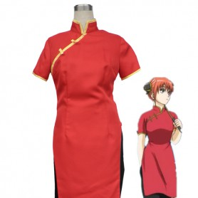 Gin Tama/ Silver Soul Kagura 7th Suit Cosplay Costume
