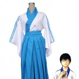 Gin Tama/ Soul Silver Shinpachi Shimura Uniform Cosplay Costume
