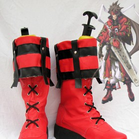 Guilty Gear Sol Badguy Cosplay Boots