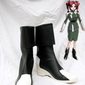 Gundam Seed Destiny Cosplay Black and White Cosplay Boots