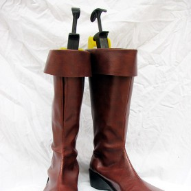 Mobile Suit Gundam 00 Cosplay Dark Brown Cosplay Boots
