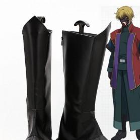 Mobile Suit Gundam 00 Graham Aker Cosplay Boots